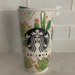 Starbucks Arizona 🌵 Ceramic Tumbler